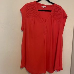 Lovely watermelon colored blouse